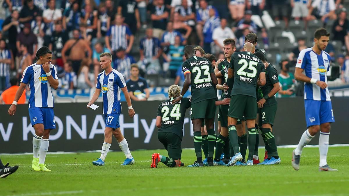 Wolfsburg Gegen Hertha